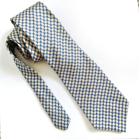 Arrow Other - Arrow 100% Silk Square Patterned Men's Neck Tie